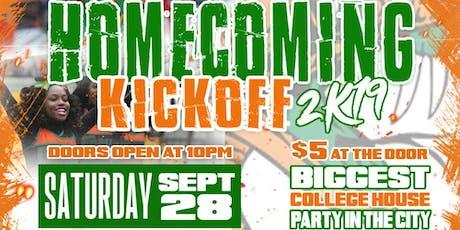 FAMU Homecoming Kickoff 2K19 tickets