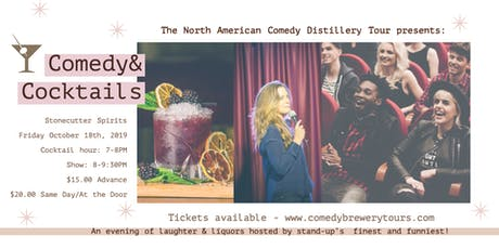 Comedy and Cocktails at Stonecutter Spirits tickets