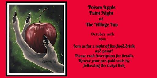 Poison Apple Paint Night at Village Inn