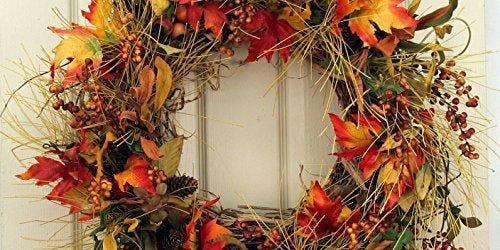 Wine & Design: Fall Wreath Class