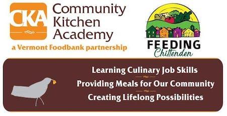 Community Kitchen Academy Graduation Burlington tickets