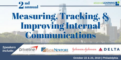 2nd Annual Measuring, Tracking, & Improving Internal Communications Conference tickets