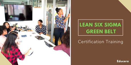 Lean Six Sigma Green Belt (LSSGB) Certification Training in  Yellowknife, NT tickets