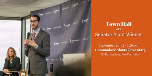 Senator Scott Wiener Town Hall