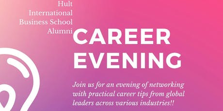 Career Evening with Hult Global Alumni tickets