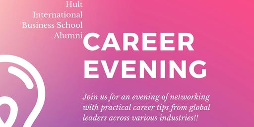 Career Evening with Hult Global Alumni