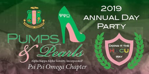 "Pumps and Pearls Day Party - ""DOING IT THE  HBCU WAY"
