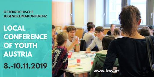 österreichische Jugendklimakonferenz LCOY Austria 2019