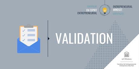 CEE: Validation | EMC: Validation billets