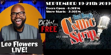 FREE TICKETS! Comic Strip Comedy Club - 09/19-22 tickets