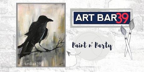 Paint & Sip   ART BAR 39   Public Event   Raven tickets