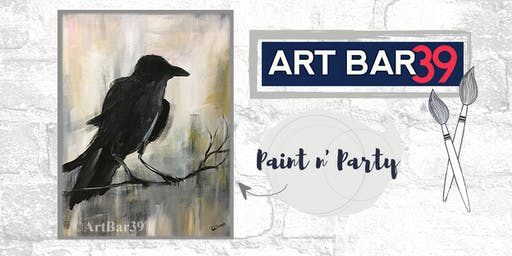 Paint & Sip | ART BAR 39 | Public Event | Raven