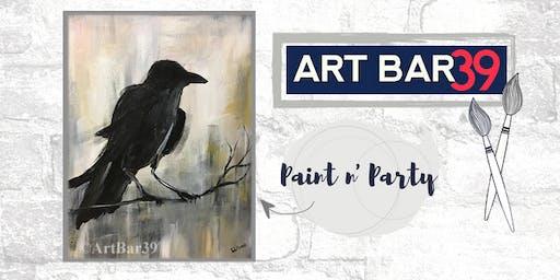 Paint & Sip | ART BAR 39 | Public Event | Raven