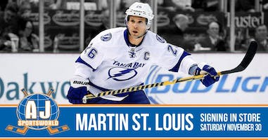 Martin St. Louis  - In Store Signing