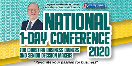 Christians in Business: National 1-Day Conference, 2020 tickets