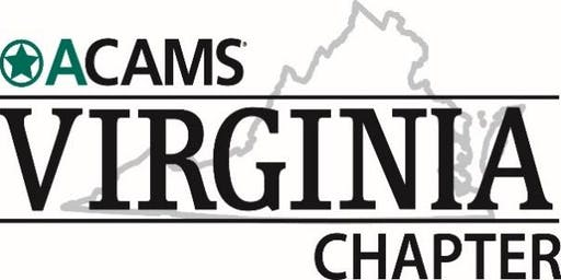 Virginia ACAMS October Double Treat