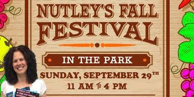 Meet Author Ilene Dudek at Nutley's Fall Festival in the Park - 9/29/19