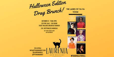 Drag Brunch Halloween Edition tickets