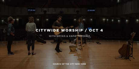 Citywide Worship tickets