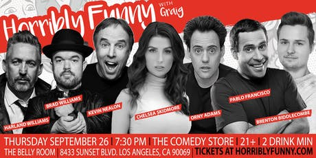Horribly Funny- Kevin Nealon, Harland Williams, Pablo Francisco + More! tickets