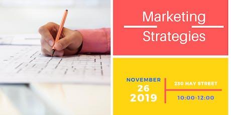 Marketing Strategies tickets
