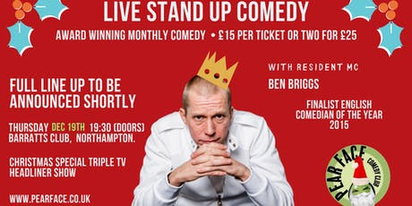 Live Stand up Comedy Triple TV Headliner Christmas Special Show tickets
