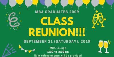 MBA Class 2009 - Reunion