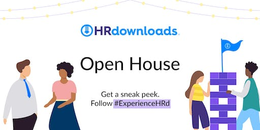 Experience HRd – Open House