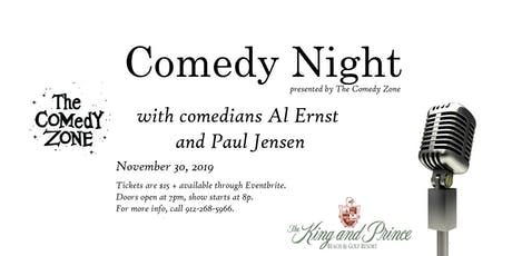 Comedy Night at The King and Prince, presented by The Comedy Zone tickets