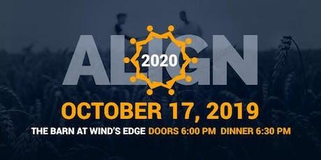 Align 2020 Fundraiser Banquet tickets