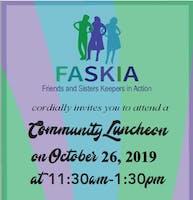 FASKIA Community Luncheon