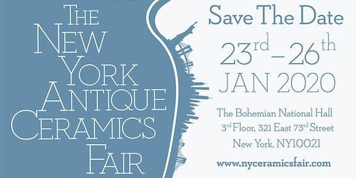 The New York Antique Ceramics Fair