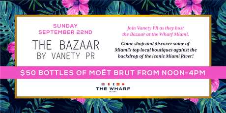The Bazaar by Vanety PR tickets