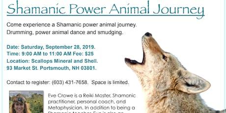 Shamanic Power Animal Journey with Eve Crowe tickets