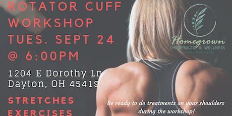 Shoulder Pain/Rotator Cuff Workshop tickets