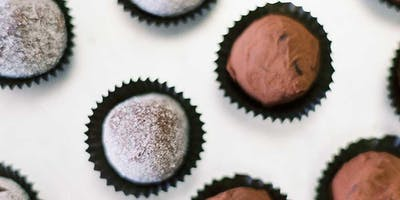 New Year's Eve Wine Pairing: Chocolate Truffles + Bubbles