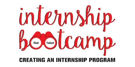 Internship Bootcamp: Creating an Internship Program 2020 tickets