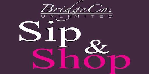 Sip & Shop Social at The Hilton Garden Inn