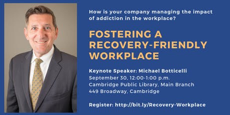 Fostering a Recovery-Friendly Workplace tickets
