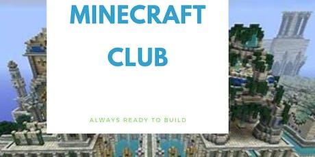 Minecraft Club tickets