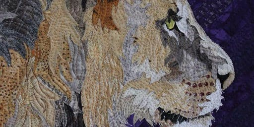 Barbara Yates Beasley's Animal Portrait Quilting April 27-May 2, 2020