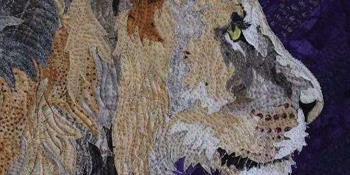 Barbara Yates Beasley's Animal Portrait Quilting April 27-May 2, 2020