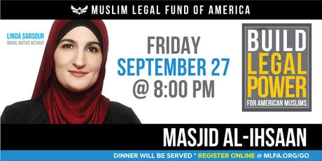 Build Legal Power for American Muslims with Linda Sarsour - Miami, FL tickets