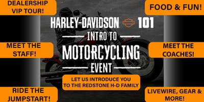 H-D 101 Intro to Motorcycling Event!