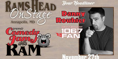 Comedy Jam at the Ram feat. Danny Rouhier tickets