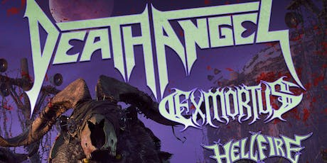 DEATH ANGEL /Locistellar / Coven 6669 / Damn The Flood + Guests tickets
