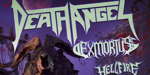 DEATH ANGEL /Locistellar / Coven 6669 / Damn The Flood + Guests
