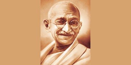 Exposición Gandhi: Pensar, Sentir, Construir la Paz entradas