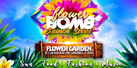 FLOWER BOMB BRUNCH SOIREE tickets
