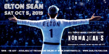 Elton Sean - Elton John Tribute London ON. tickets